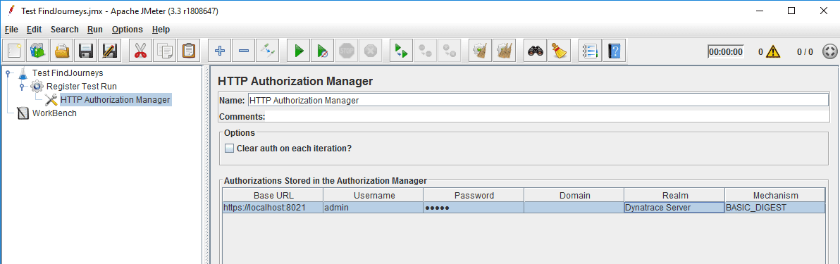 Authentication manager