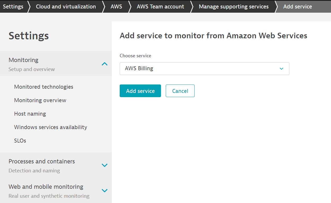add-aws-service