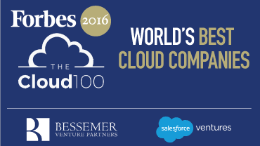 Forbes 2016 Cloud 100 Report