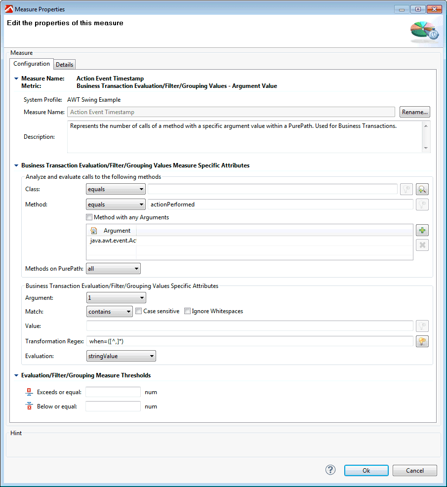Diagnose AWT and swing applications | AppMon documentation