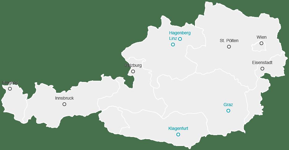 austia map
