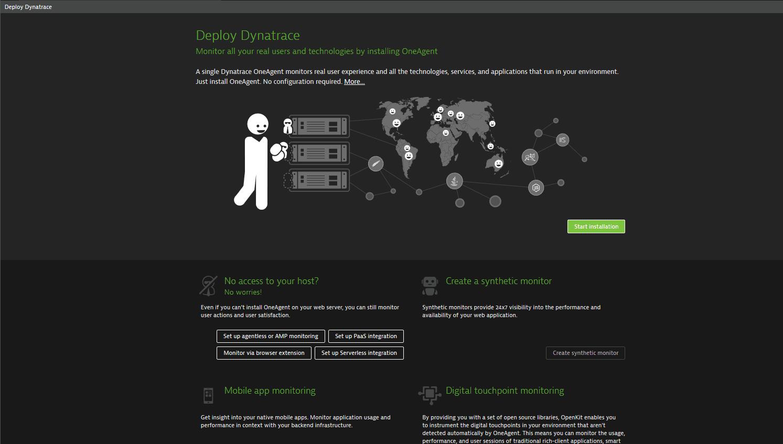Automatic enterprise deployment