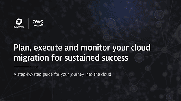 AWS Cloud migration ebook