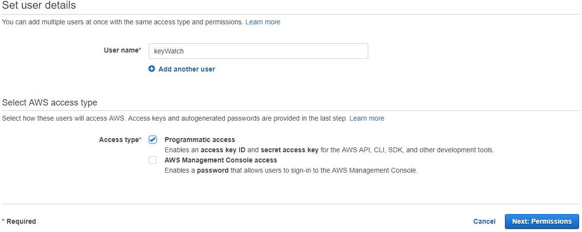 Adding access