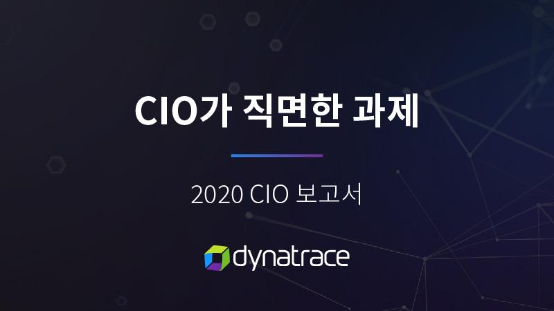 2020 글로벌 CIO 레포트