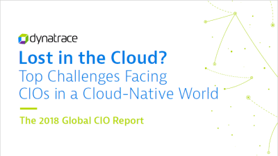 Lost in the Cloud? The 2018 Global CIO Report