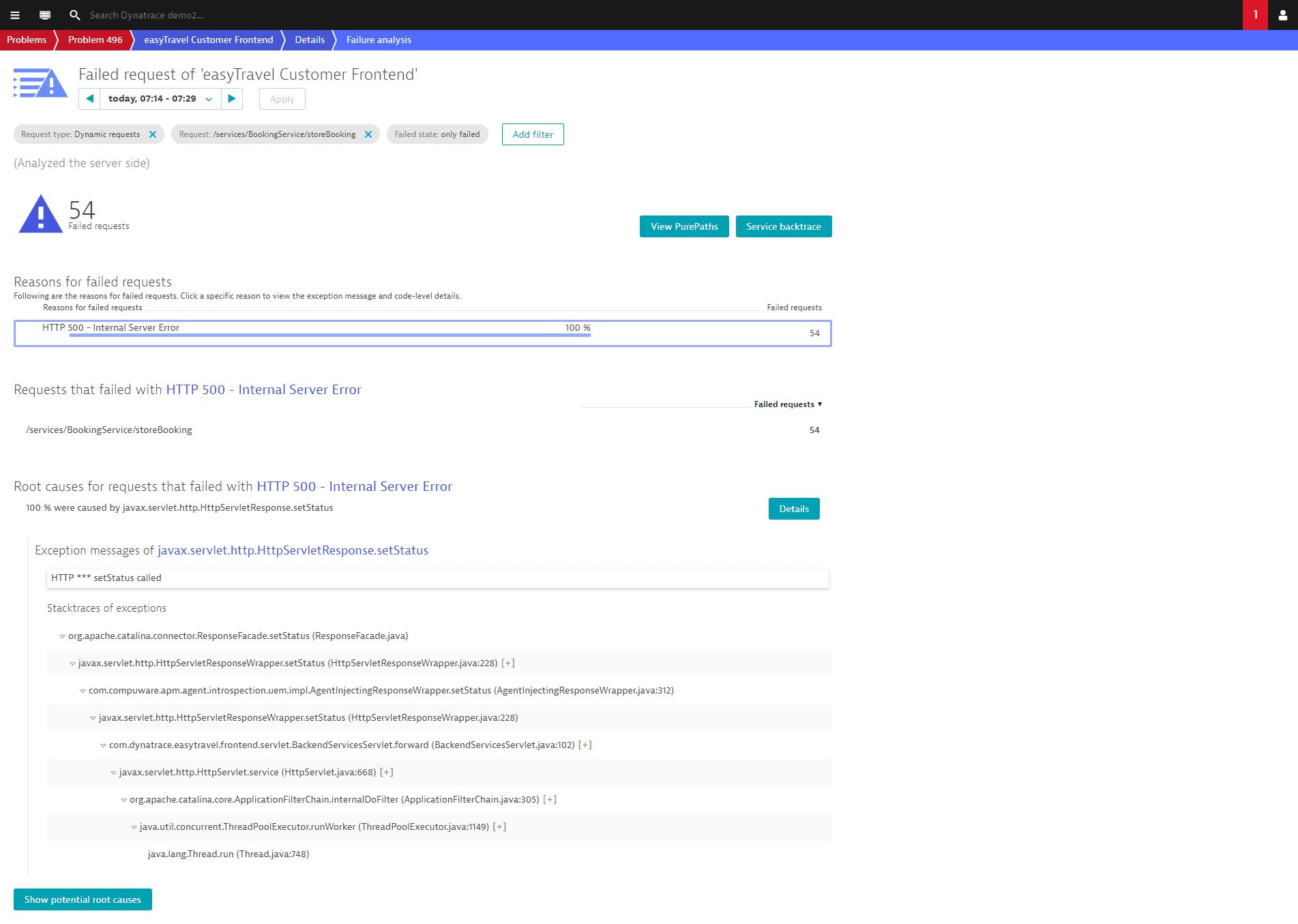 problem - code level