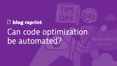 Can code optimization be automated?