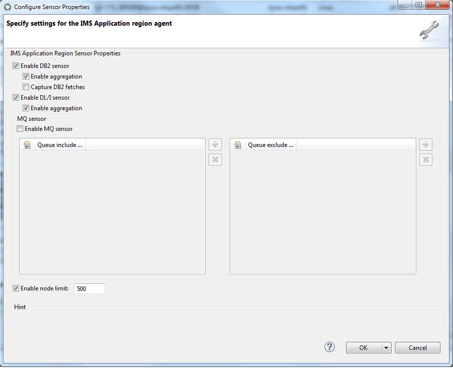 IMS Agent injection and configuration | AppMon documentation