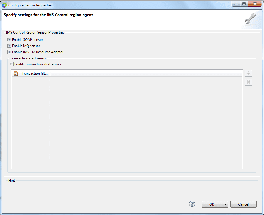 IMS Agent injection and configuration   AppMon documentation
