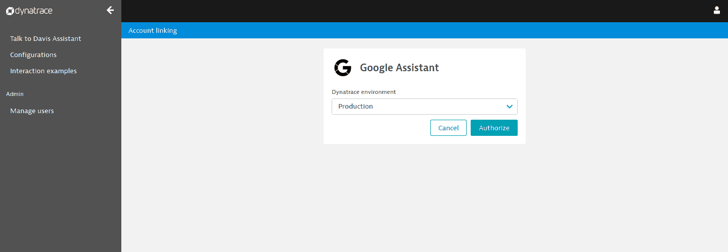 Connect the Google Assistant Action with Davis Assistant