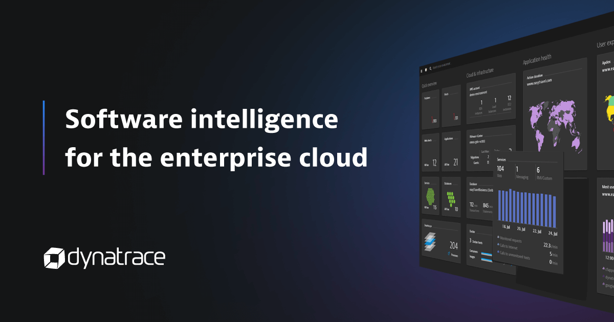 Software Intelligence for the Enterprise Cloud | Dynatrace