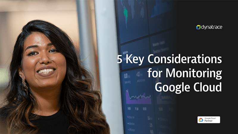 5 Key considerations for monitoring Google Cloud