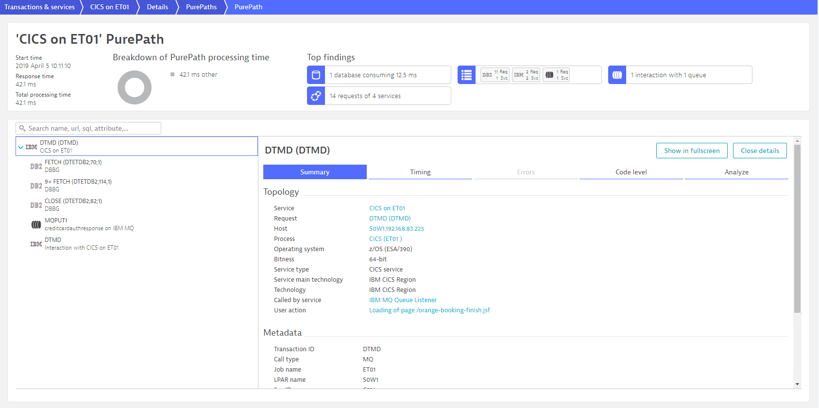Easytravel PurePath - summary