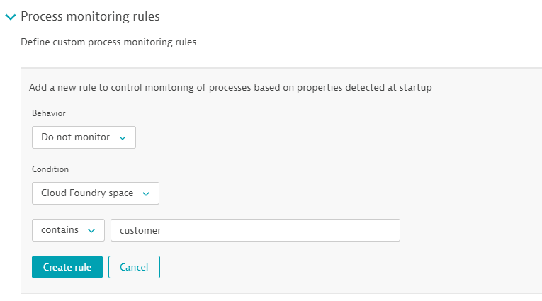 Example: create custom process monitoring rule