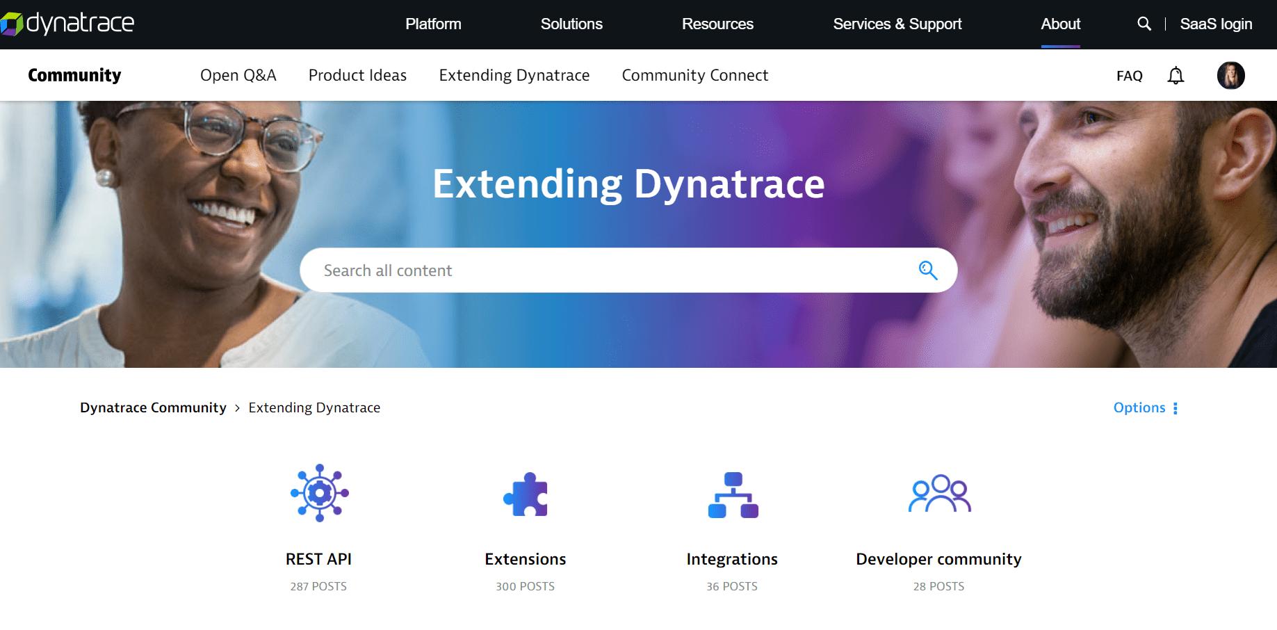 Extending Dynatrace