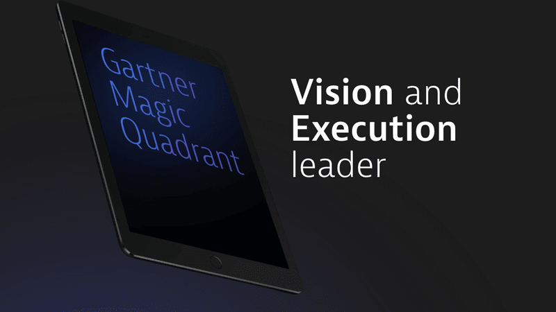 Anerkannter Marktführer im Gartner Magic Quadrant in der Sparte Application Performance Suites