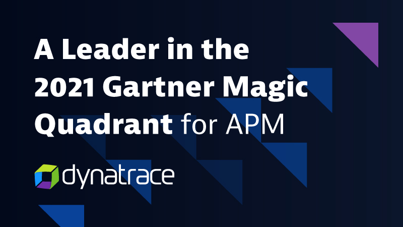 Gartner Magic Quadrant für Applikation Performance Monitoring