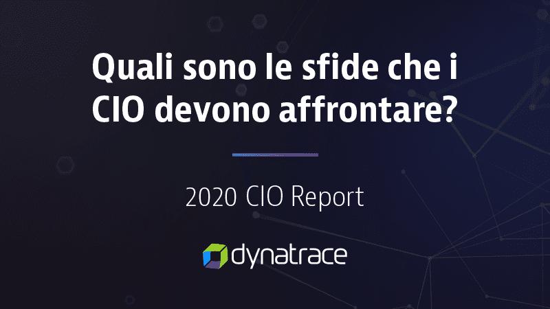 Global CIO Report 2020