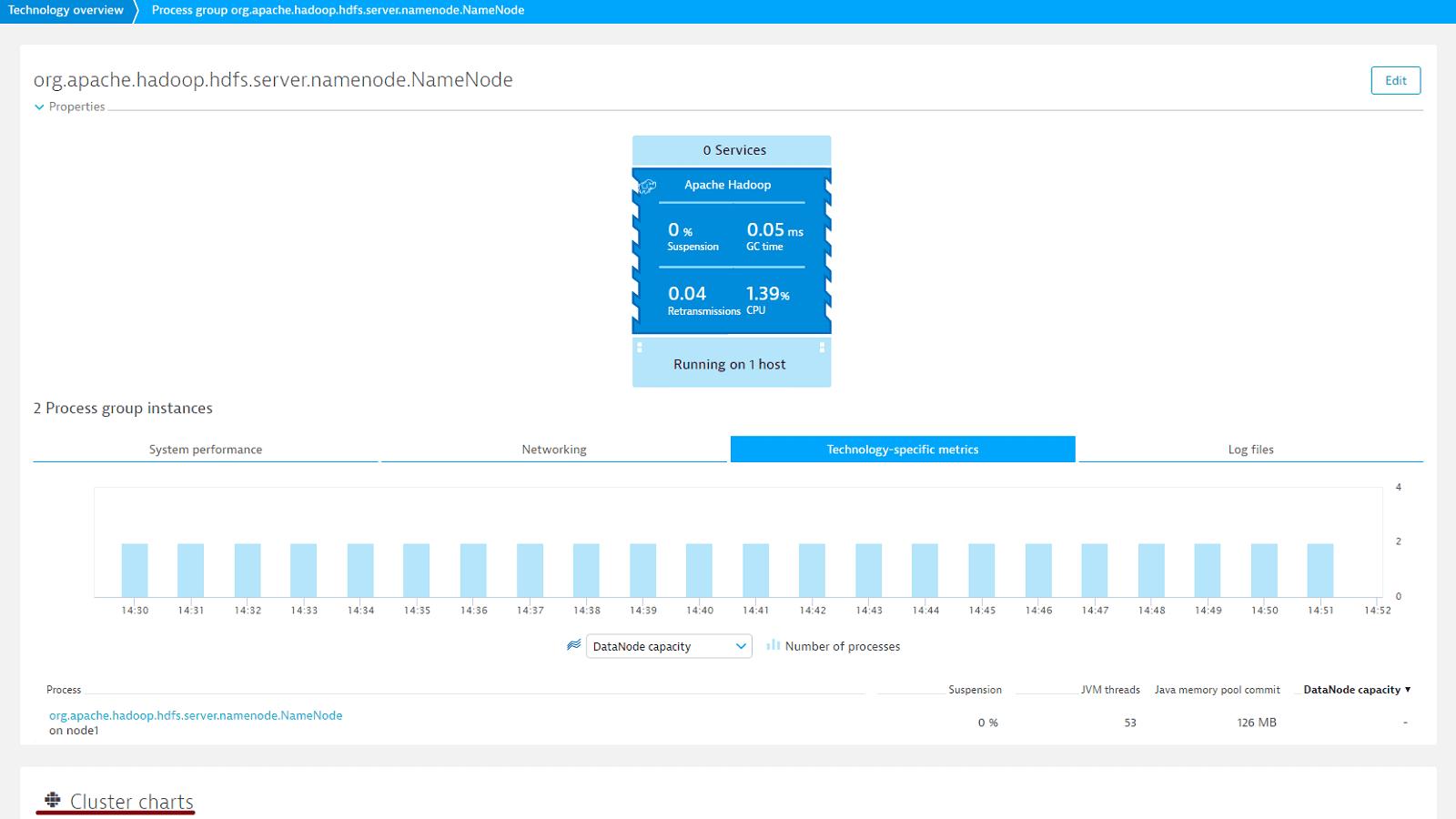 Hadoop NameNode metrics overview