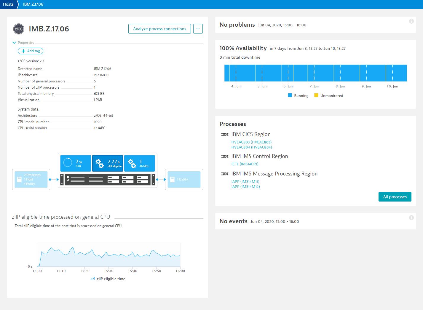 Host level metric