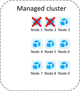 Large Dynatrace Managed cluster no data loss