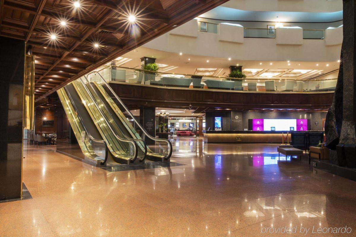 Mexico City Barcelo Inside Lobby