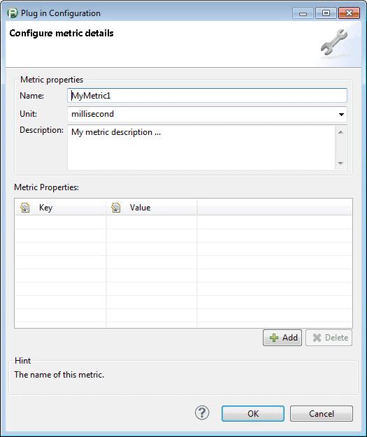 Monitor Metric Details