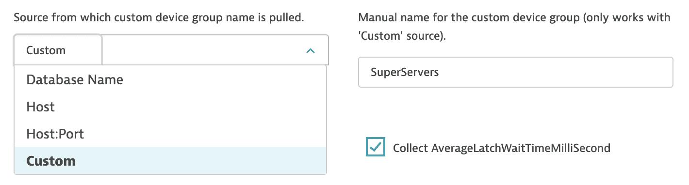 Custom device name configuration