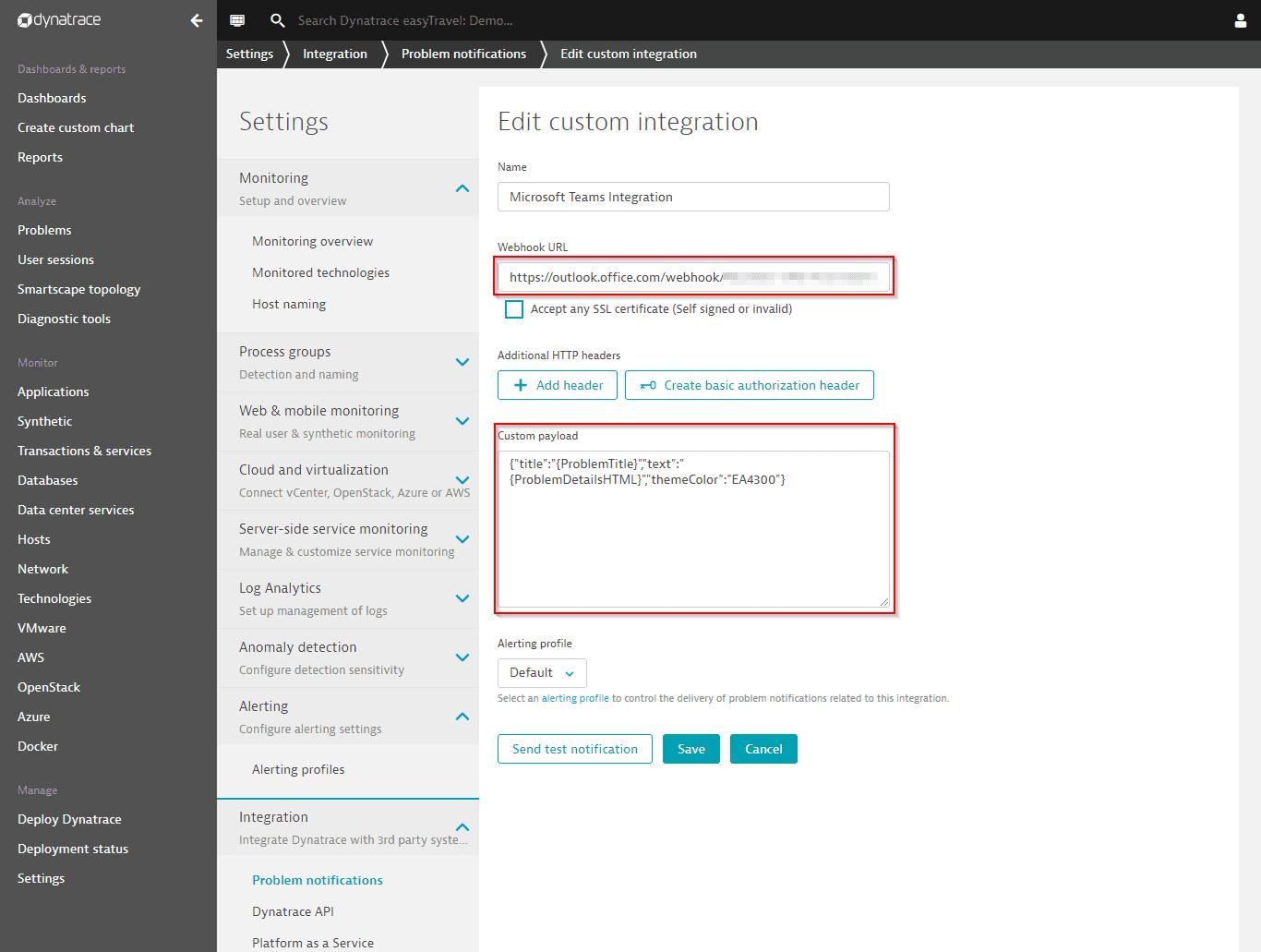 Microsoft Teams Profile