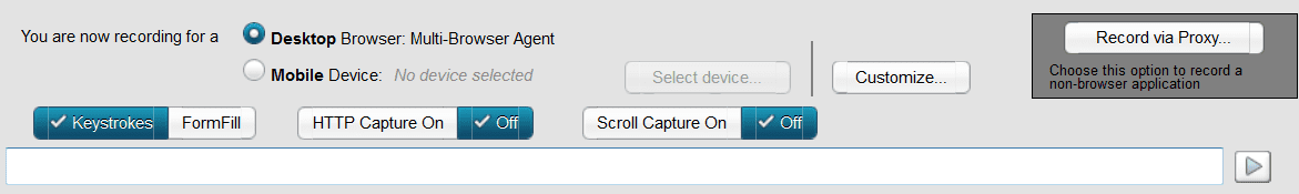 Recorder URL field