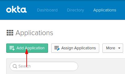 Okta - Add Application