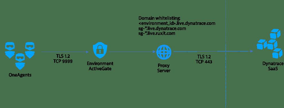 Ruxit domain change diagram