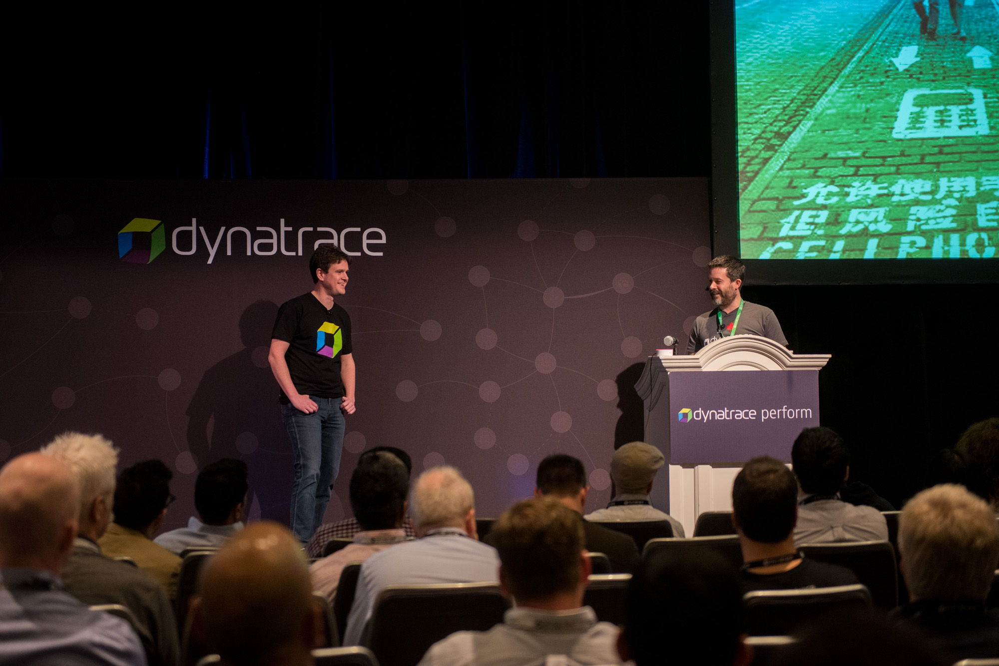 Hot day presentation by dynatrace employees