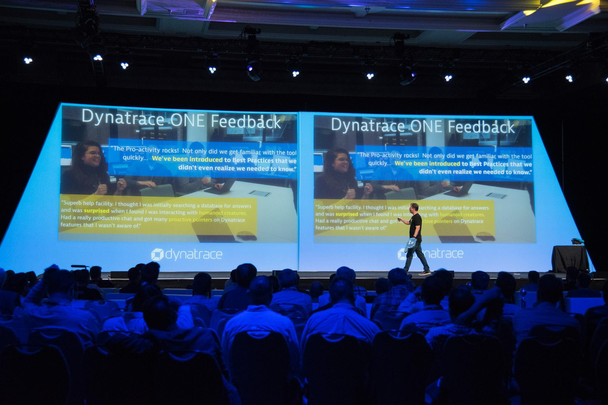 Main stage presentation