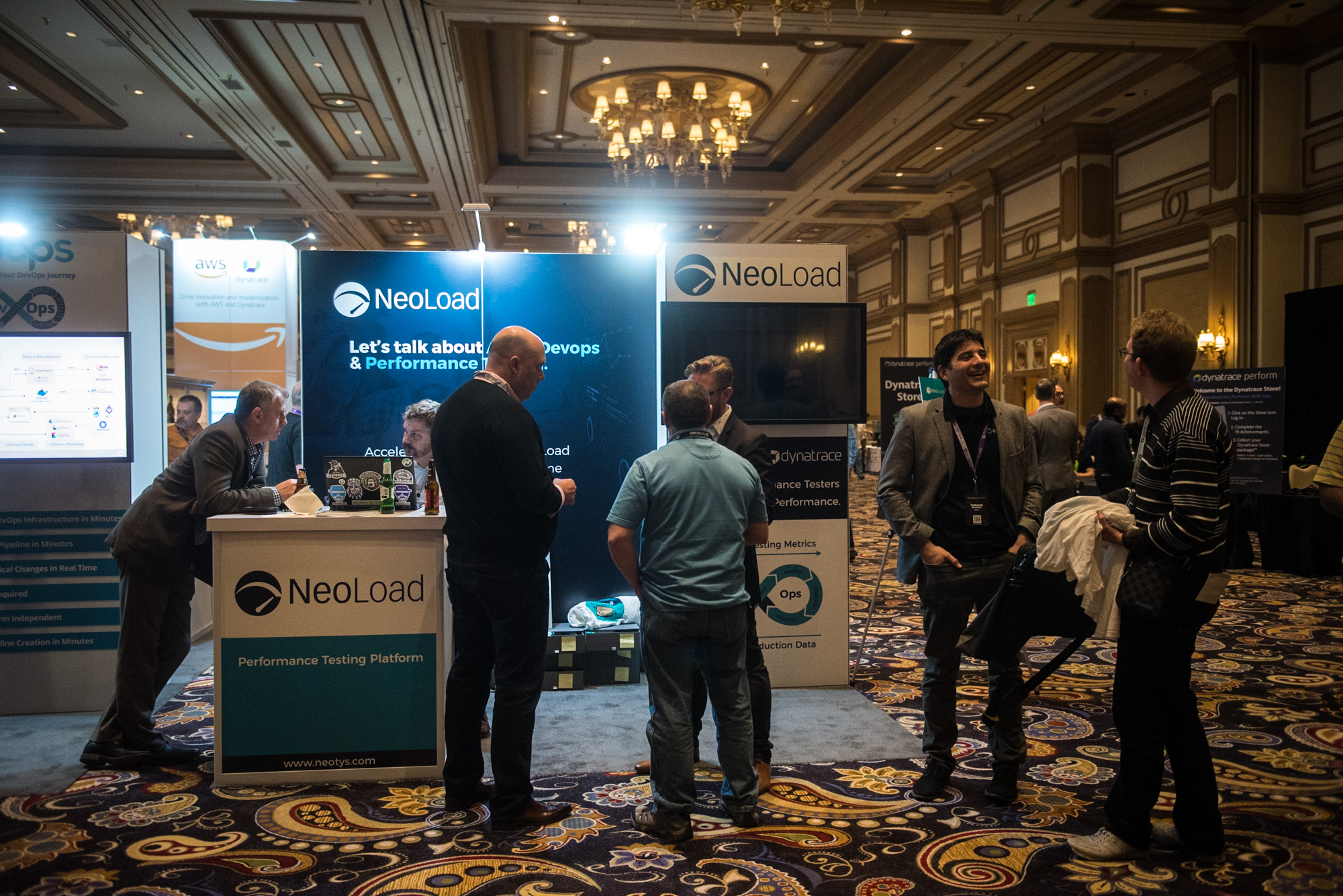 NeoLoad booth at perform 2018