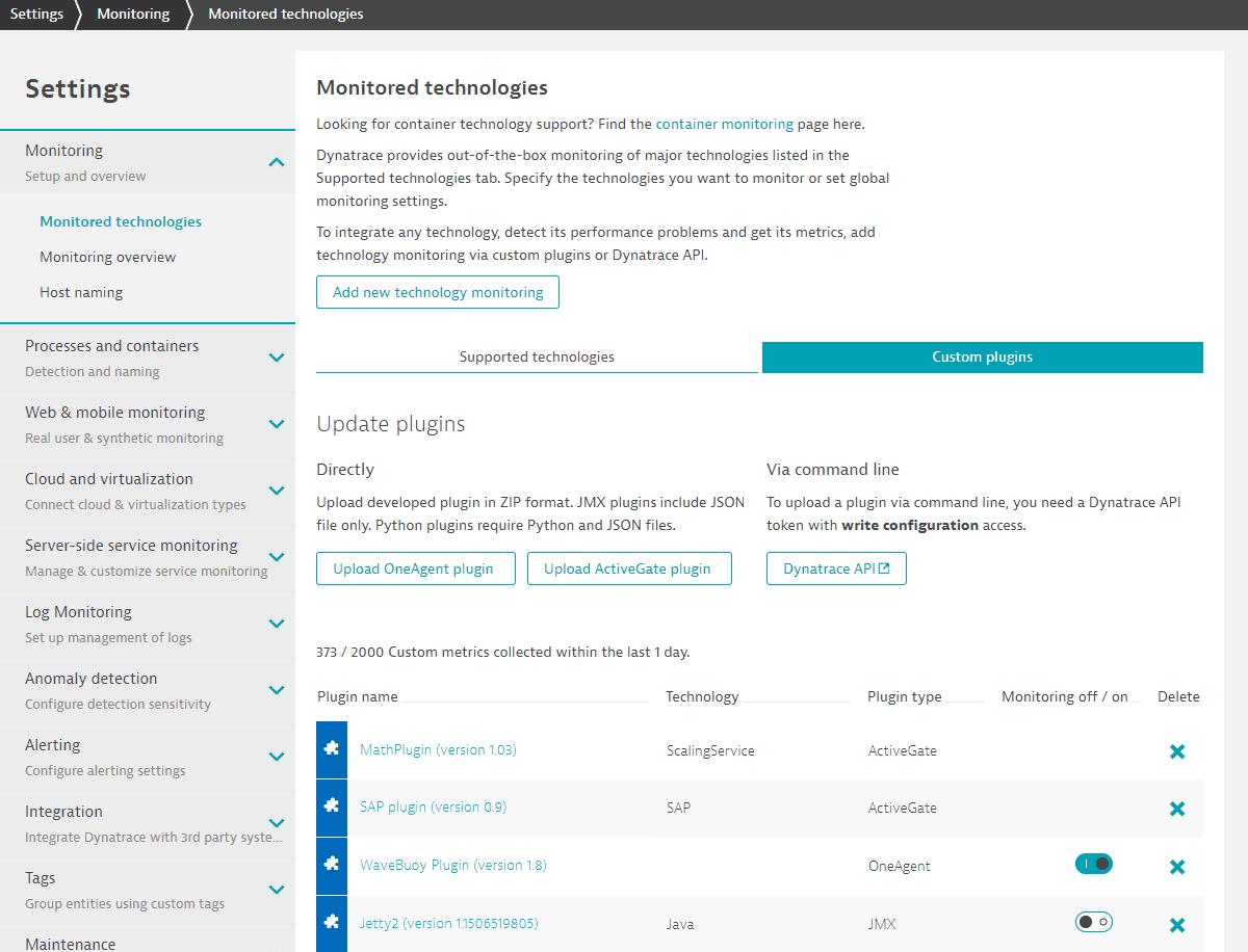 Plugins - list