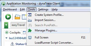 Manage plugins