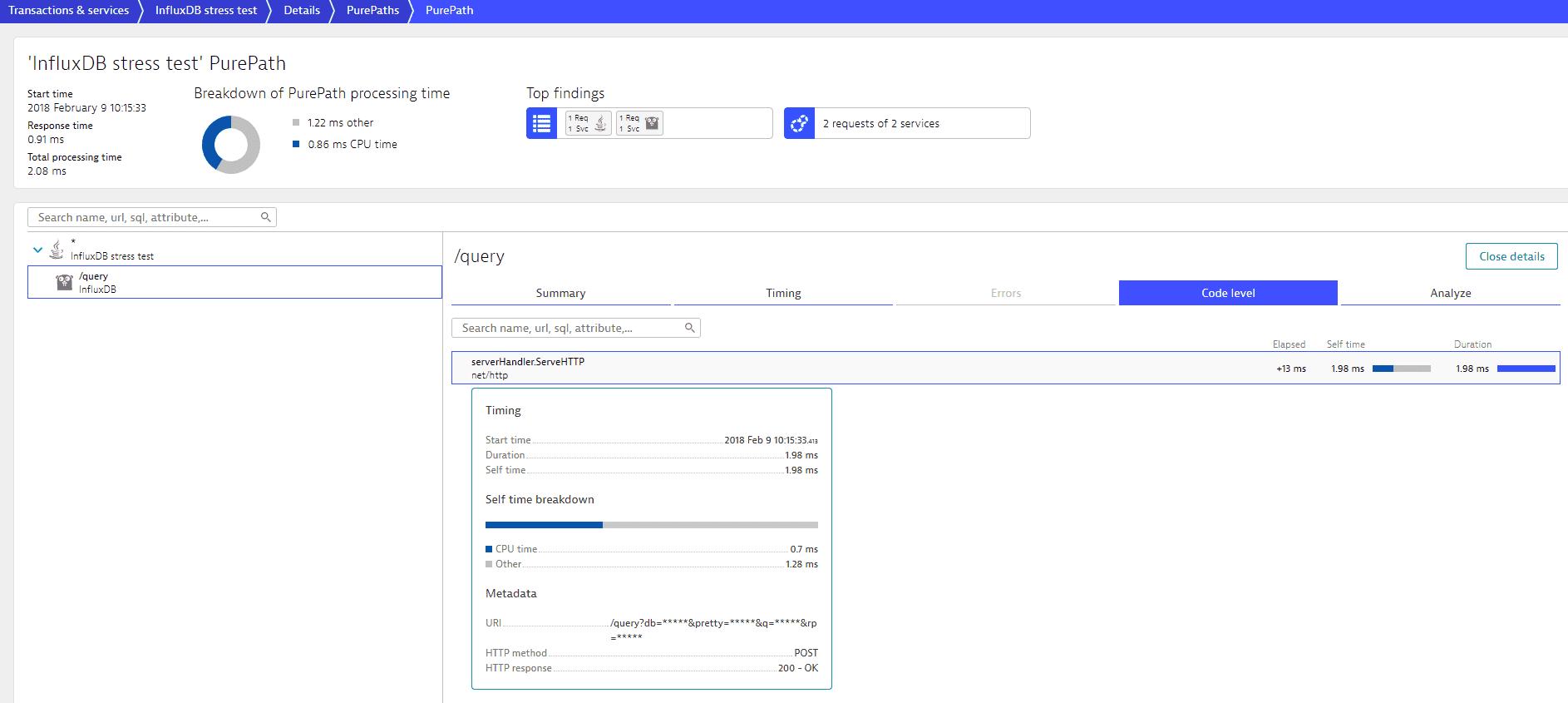 PurePath - code level