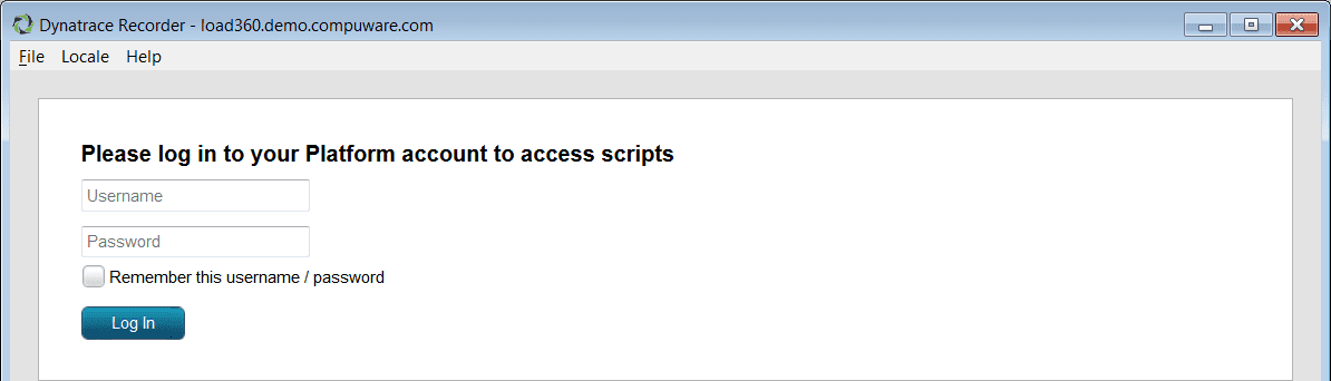 Log in to save a script