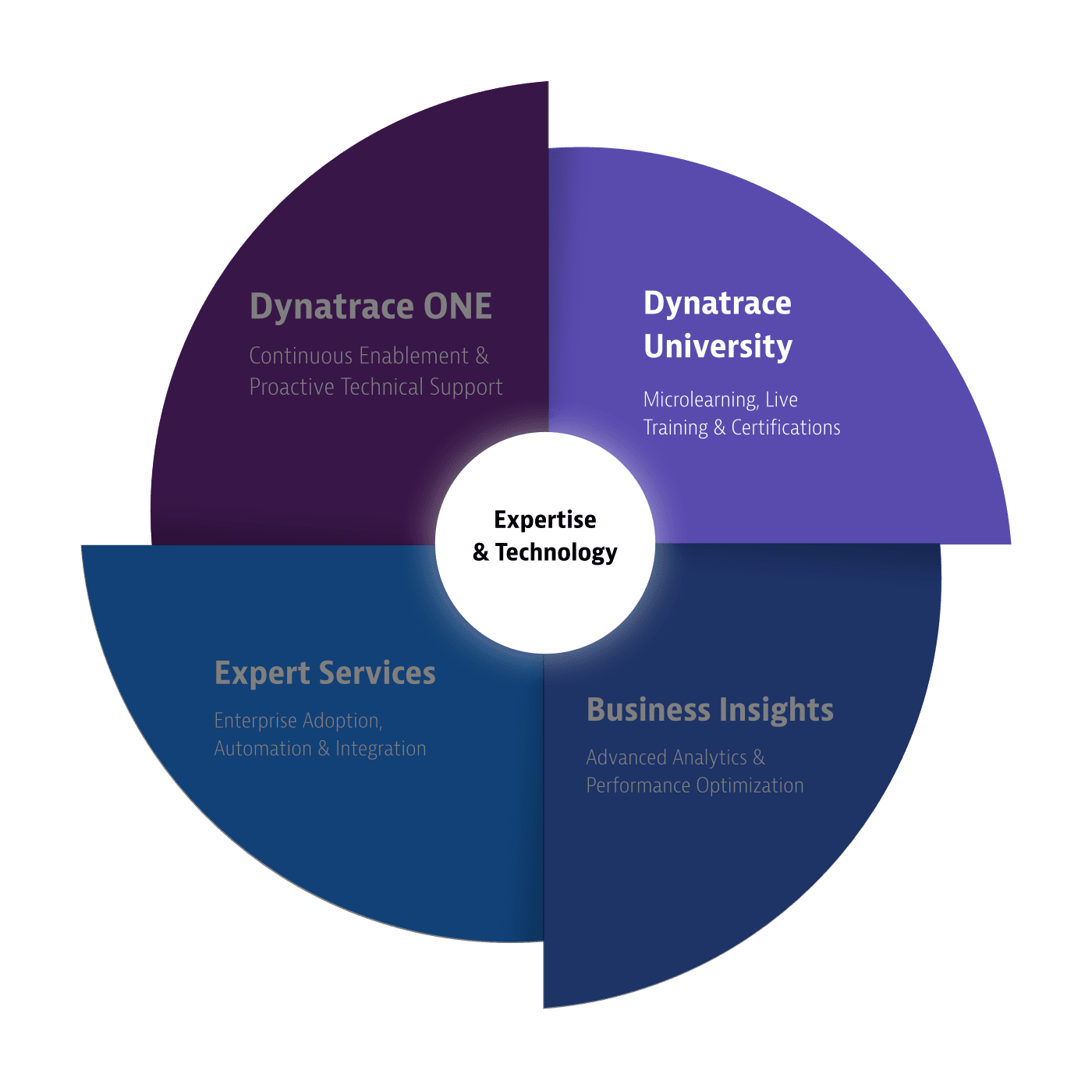 Dynatrace servicesSupportWheel university