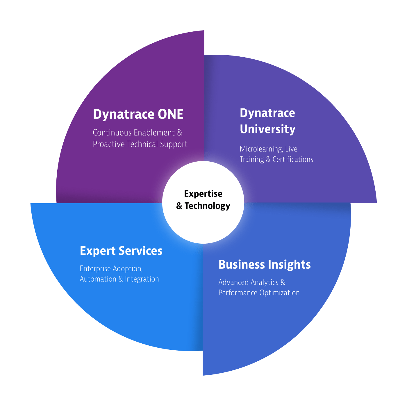 Dynatrace servicesSupportWheel