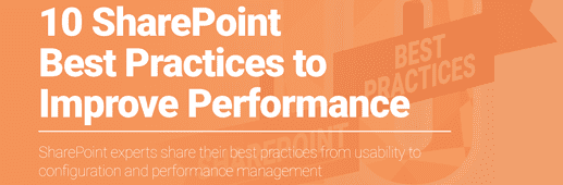 10 SharePoint Best Practices to Improve Performance