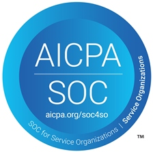 AICPA SOC Logo for Server Organizations