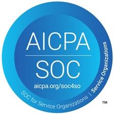 AICPA SOC Logo for Server Organizations