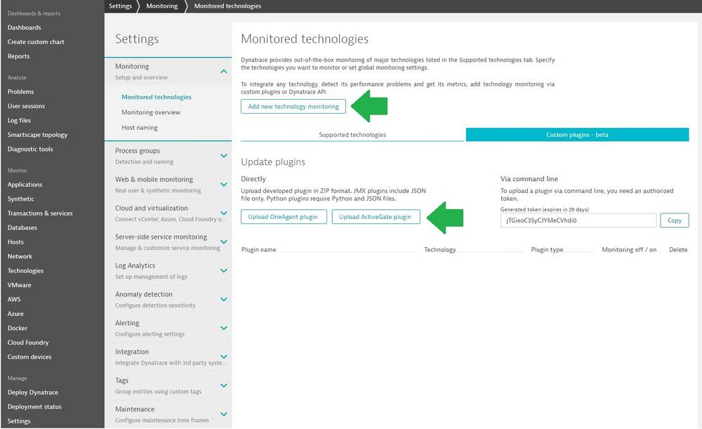 Upload Remote Custom Plugin By UI