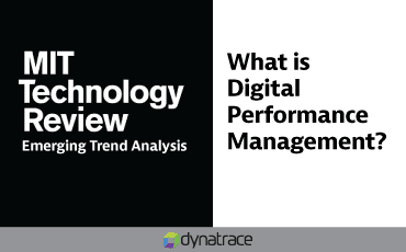 Article: Emerging Trend Analysis: What is Digital Performance Management?