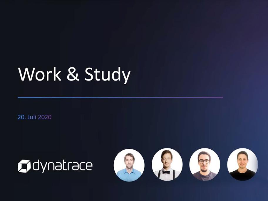 Work & Study Webinar