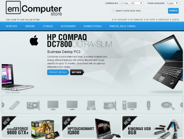 e-Commerce Store Application in the Cloud