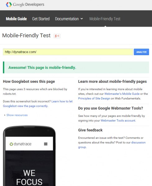 Google-Mobile-Friendly-Test